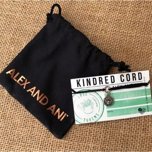 🆕 Alex and Ani Kindred Cord Love Token Bracelet
